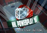NHL Powerplay '96 SEGA Saturn Title screen