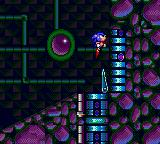 Sonic the Hedgehog: Spinball Game Gear These tubes shoot you upwards