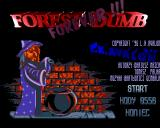 Forest Dumb Forever Amiga Title screen