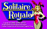 Solitaire Royale PC-88 Title screen