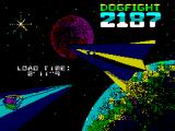 Dogfight 2187 ZX Spectrum Loading Screen
