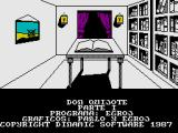 Don Quijote ZX Spectrum Title Screen