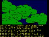 Emerald Isle ZX Spectrum Trapped in the trees