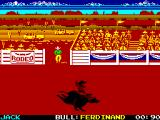 World Games ZX Spectrum Bull Riding