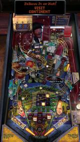 The Pinball Arcade Windows  Ripley's Believe it or Not! full table view (portrait mode, view 3)