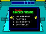 Emilio Sanchez Vicario Grand Slam ZX Spectrum Title Screen
