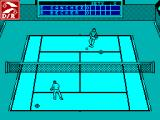 Emilio Sanchez Vicario Grand Slam ZX Spectrum The ball is returned