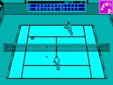 Emilio Sanchez Vicario Grand Slam ZX Spectrum Hitting the ball to the left