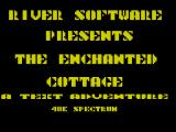 The Enchanted Cottage ZX Spectrum Loading Screen