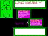 European Superleague ZX Spectrum Tactics