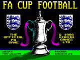 F.A. Cup Football ZX Spectrum Loading Screen