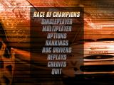 Michelin Rally Masters: Race of Champions Windows Main menu