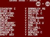 F.A. Cup Football ZX Spectrum Draw is being made