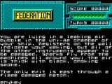 Federation ZX Spectrum Start of your quest