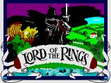 The Fellowship of the Ring ZX Spectrum Loading Screen