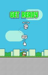 Swing Copters Android Start of a new game