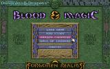 Blood & Magic DOS When you complete all 5 stories you will unlock the random campaign, fought on all 15 maps.