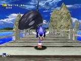 Sonic Adventure DX (Director's Cut) Windows Big whale chasing