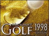 Microsoft Golf 1998 Edition Windows The game's title screen. 