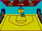 GBA Championship Basketball: Two-on-Two ZX Spectrum Attempting to dunk the ball