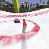 Shaun Palmer's Pro Snowboarder PlayStation 2 Boarding into a circle like this ends the run