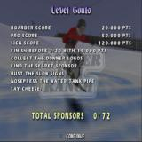 Shaun Palmer's Pro Snowboarder PlayStation 2 A summary of the goals for the Donner Ski Ranch
