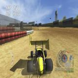 TOCA Race Driver 3 PlayStation 2 On the track in the World Sprintcar Series.