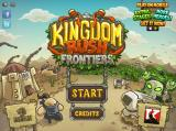 Kingdom Rush: Frontiers Browser Start screen