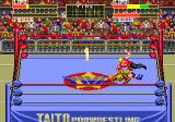 Champion Wrestler Arcade Pinned to the canvas