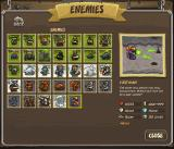 Kingdom Rush Browser All enemies