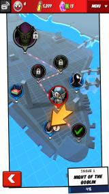 Spider-Man Unlimited Android Level selection