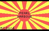 Pearl Harbour DOS Title screen