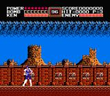 Fist of the North Star NES Starting the game