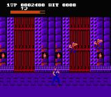 Hokuto no Ken NES Beyond the door enemies are ready to fly at you