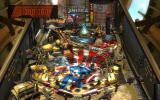 Pinball FX2: Captain America Windows The Comic Cube has been lowered. Shoot it and get at least a million points.
