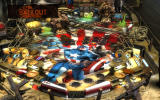 Pinball FX2: Captain America Windows The green pools are Adhesive X and slow down the ball