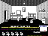 Jack the Nipper ZX Spectrum Start of the game