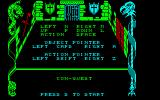 Con-Quest Amstrad CPC Title Screen
