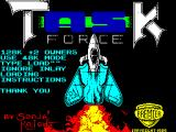 Taskforce ZX Spectrum Loading Screen