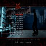 Tony Hawk's Underground PlayStation 2 The game's main menu