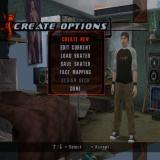 Tony  Hawk's Underground PlayStation 2 In addition to creating a new boarder the player can create new moves and new parks