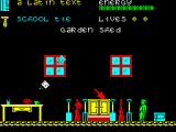 The Happiest Days of Your Life ZX Spectrum Inside a garden shed