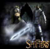 Shifters PlayStation 2 A nice piece of heroic artwork.