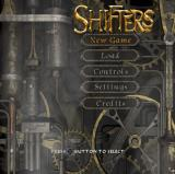 Shifters PlayStation 2 The main menu