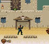 Judge Dredd Game Gear In the desert town