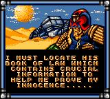 Judge Dredd Game Gear Find the book of the law