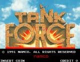 Tank Force Arcade Title screen
