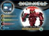 BIONICLE: Which Toa Are You? Browser Title screen.