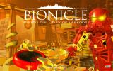 BIONICLE Metru Nui: City of Legends - Stop the Morbuzakh Windows Title screen.