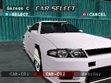 Peak Performance PlayStation Car Select. MobyGay.